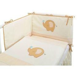 Mamo-tato pościel 3-el słonik biszkoptowy do łóżeczka 70x140cm