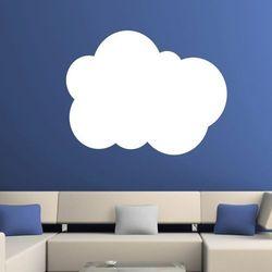 Wally - piękno dekoracji Tablica suchościeralna chmura 154