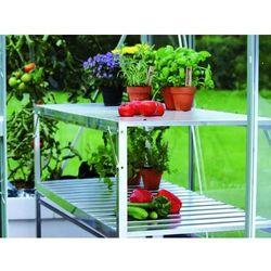 Stolik 2-piętrowy aluminiowy Vitavia z kategorii Szklarnie