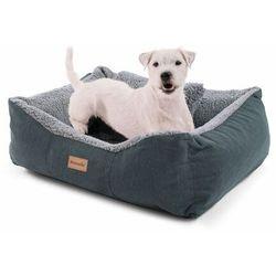 Brunolie emma, legowisko/kosz dla psa, możliwość prania, antypoślizgowe, oddychające, materac dwustronny, poduszka, rozmiar s (67 x 20 x 59 cm)