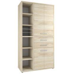 Regał biurowy SET+ 216x117 cm, naturalny, MDF, 16885524