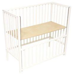 Fillikid  łóżeczko przystawne cocon white 45x95cm, kategoria: łóżeczka i kołyski