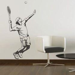 Wally - piękno dekoracji Szablon malarski tenis 1171
