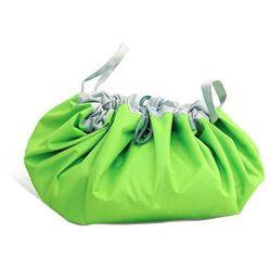 Flexi bag - pojemna i wygodna torba na zabawki zielona, marki El minio