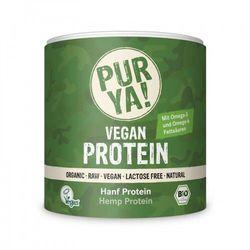 Białko konopne w proszku raw bio 250 g - pur ya! wyprodukowany przez Pur ya! (proteiny)
