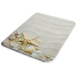 Dywanik łazienkowy piankowy shells 50 x 70 cm multi marki Bisk