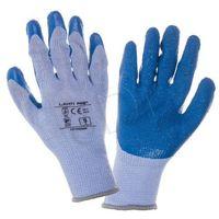 Rękawiczki LAHTI ochronne (L niebiesko-fioletowe)- wysyłamy do 18:30