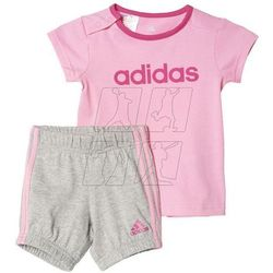 Adidas Komplet  summer easy girls set kids ak2610