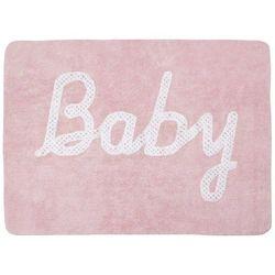 Lorena canals Dywan do prania w pralce: baby petit point - rosa (120x160 cm)