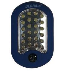 Dedra  latarka 24+3 led owalna z magnesem i hakiem {baterie w zestawie}, kategoria: latarki