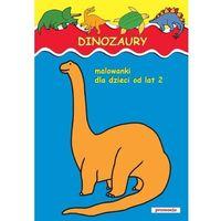 Dinozaury Malowanki od lat 2 (opr. miękka)