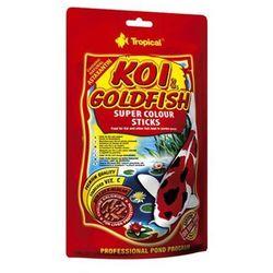 TROPICAL Koi & GoldFish Colour Sticks - pokarm wybarwiający w pałeczkach dla ryb stawowych worek 1l/90g