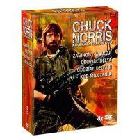 Gwiazdy kina: Chuck Norris (4xDVD) - Andrew Davis, Menahem Golan, Aaron Norris