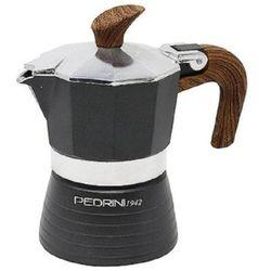 Kawiarka celebration 1 tz srebrno-brązowy marki Pedrini