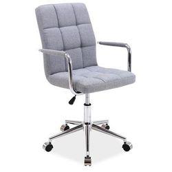 Signal Fotel biurowy obrotowy q-022 - szary materiał
