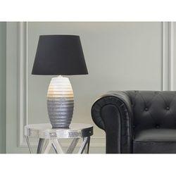 Nowoczesna lampka nocna - lampa stojąca - srebrna - EBRO