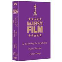 Oskary: To nie jest kraj dla starych ludzi / Ojciec chrzestny / Forrest Gump (DVD) - Różni