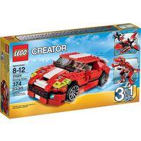 Lego CREATOR Czerwone konstrukcje 31024