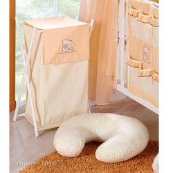 MAMO-TATO Kosz na bieliznę Tulisie brzoskwiniowe z kategorii Kosze na pranie
