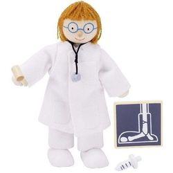 Postać do teatrzyku dla dzieci - lekarz - produkt dostępny w www.epinokio.pl