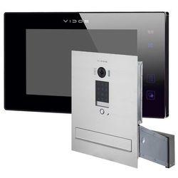 Wideodomofon skrzynka na listy z szyfratorem s1401d-skm m1021b-2 marki Vidos