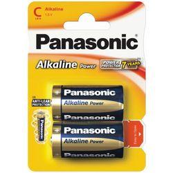 24 x  alkaline power lr14/c (blister), marki Panasonic