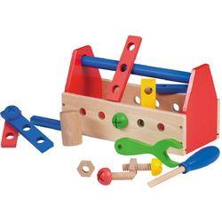 Johntoy Drewniana skrzynka z narzędziami - sprawdź w wybranym sklepie
