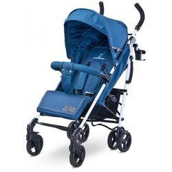 Caretero Jeans wózek spacerówka aluminium parasolka nowość blue