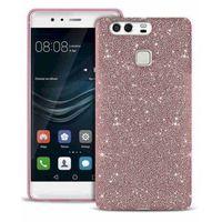Etui PURO Glitter Shine Cover do Huawei P9 Różowy - produkt z kategorii- Futerały i pokrowce do telefonów