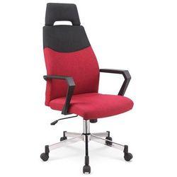 Fotel biurowy, obrotowy olaf bordo marki Halmar