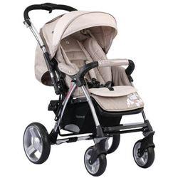 Adamex, Quatro Monza, wózek spacerowy, beżowy z kategorii wózki spacerowe
