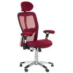 Fotel ergonomiczny bx-4147 czerwony marki Corpocomfort