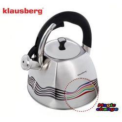 Klausberg Czajnik stalowy thermo indicator 3.0l [kb-7099] (5902666610997)