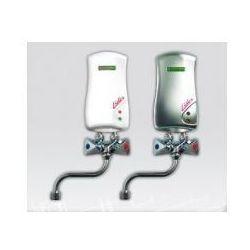 ELEKTROMET LIDER Umywalkowy przepływowy ogrzewacz wody z baterią L-210mm 4,5kW, bezciśnieniowy, biały 251-21-451