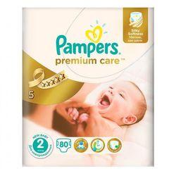 pieluchy premium care 2 mini (80 szt.) wyprodukowany przez Pampers