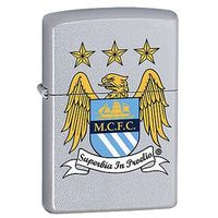 Zapalniczka Zippo Manchester City FC, Satin Chrome