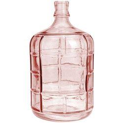 Home styling collection Szkalny wazon pink na kwiaty, dekoracje - wysoki