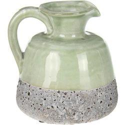 Ceramiczny wazon na sztuczne kwiaty, dekoracje, 8037-UNIW