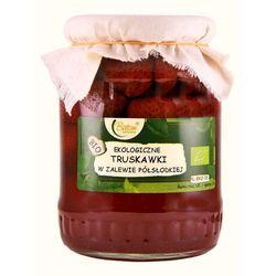 truskawki w zalewie półsłodkiej bio 680 g - batom - produkt z kategorii- Przetwory warzywne i owocowe