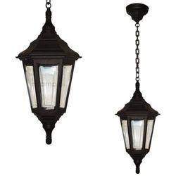 Elstead Zewnętrzna lampa wisząca kinsale chain klasyczna oprawa ogrodowy zwis ip44 outdoor latarnia czarny