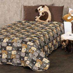 4Home Dziecięca narzuta na łóżko Misie, 150 x 200 cm (8596175016097)