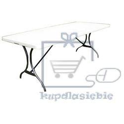 Składany stół kempingowy cateringowy ogrodowy 244 cm