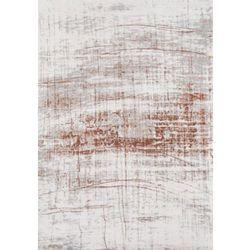 Brązowo biały dywan nowoczesny copperfield marki C&m