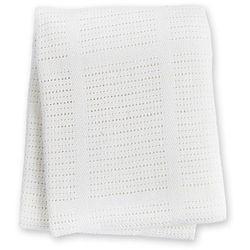 kocyk bawełniany tkany white marki Lulujo