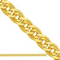 Złoty łańcuszek dmuchany mona lisa ld201 od producenta Nie