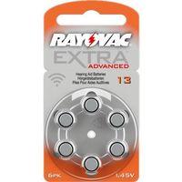 6 x baterie do aparatów słuchowych Rayovac Extra Advanced 13 MF, kup u jednego z partnerów