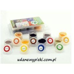 Food colours Naturalne barwniki spożywcze w proszku - 8 kolorów