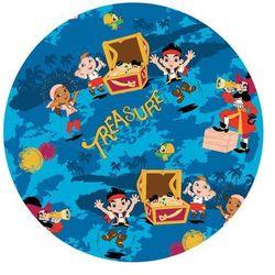 Dekoracyjny opłatek tortowy Jake i Piraci z Nibylandii - 20 cm - 9