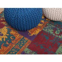 Dywan kolorowy poliestrowy bawełniany 80x150 cm TOSYA (7081451646408)