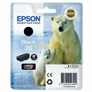 EPSON 26 Series Polar bear black ink cartridge in RS blister pack with RF+AM tags (8715946518916)